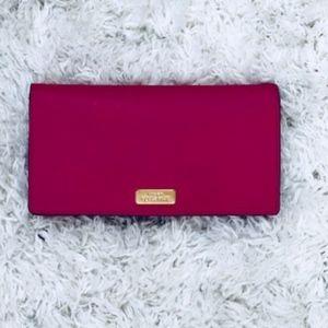 Kate Spade Pink Stacy Laurel Way Wallet